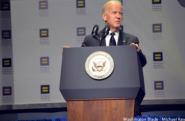 Joe Biden Condemns Gay Chechnya Arrests
