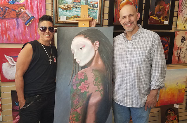 Artist Dismisses Gender Binaries in Wilton Manors Gallery