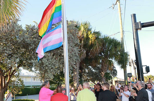 Wilton Manors to Donate Trans Flag to Stonewall Museum & Archives