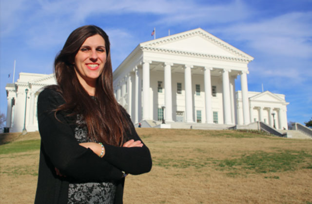 Transgender Candidate Takes on Culture Warrior in Virginia