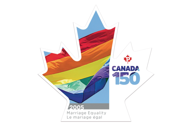 Canada Reveals Marriage Equality Postage Stamp