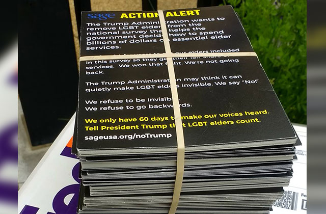 Trump Removes LGBT Folks From Aging Survey