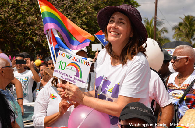 Mariela Castro Leads LGBT March in Havana