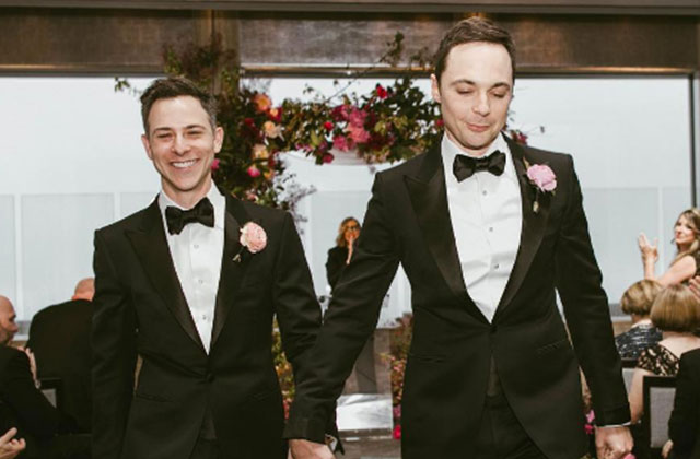 'Big Bang Theory' Star Marries Longtime Boyfriend in NYC