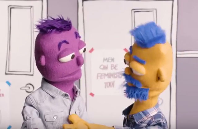 'Breakthrough U' Puppets Help Students Stop Gender-Based Violence