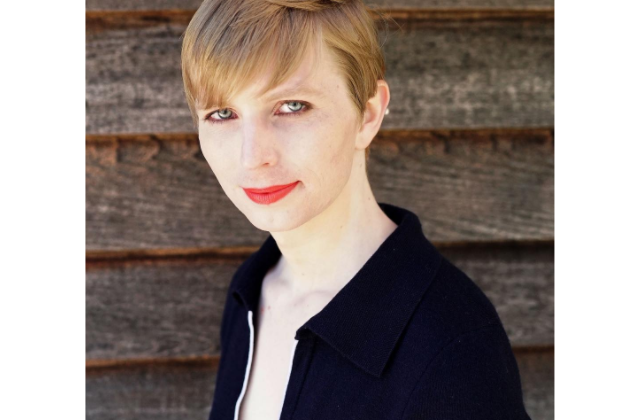 Chelsea Manning shares first picture of herself since release