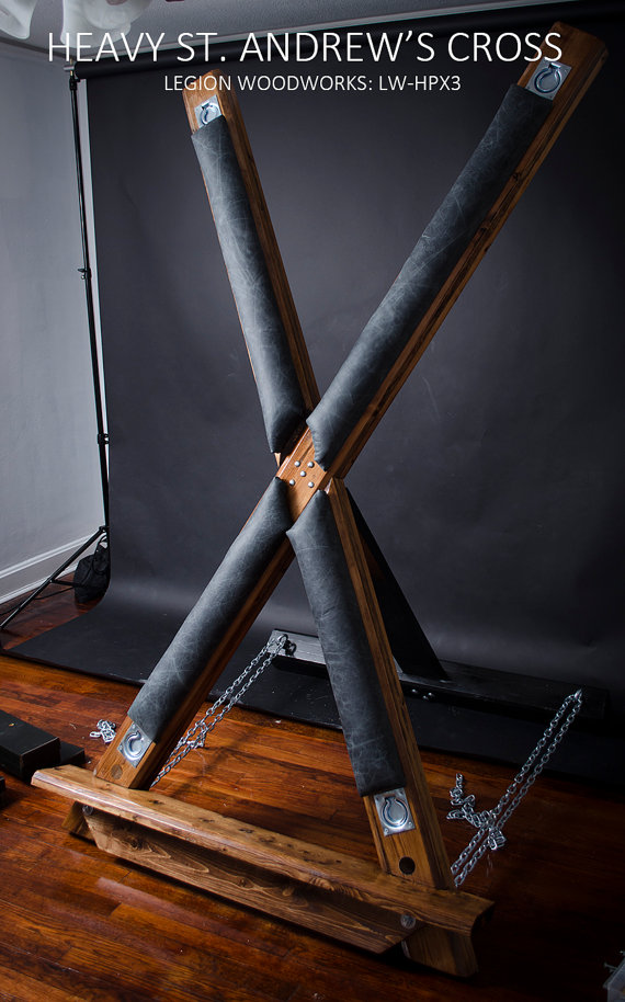 Opinion sex on a st andrews cross bdsm