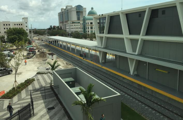 Brightline Gives News Media Sneak Peek