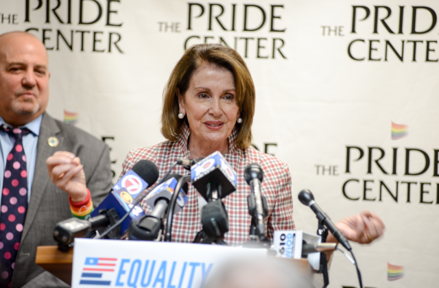 Column: What I Saw at The Revolution - House Minority leader Nancy Pelosi visits the Pride Center