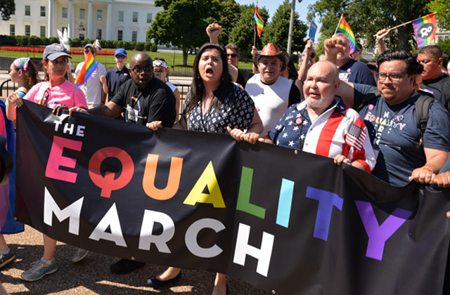 Equality March Draws Thousands from Across Country