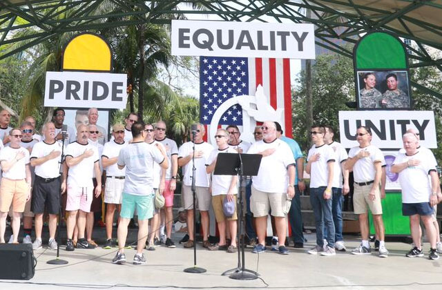 Equality Rally Gets Heated With Converging Groups