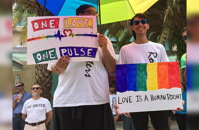 West Palm Beach Equality March Rallies to Vote and Represent
