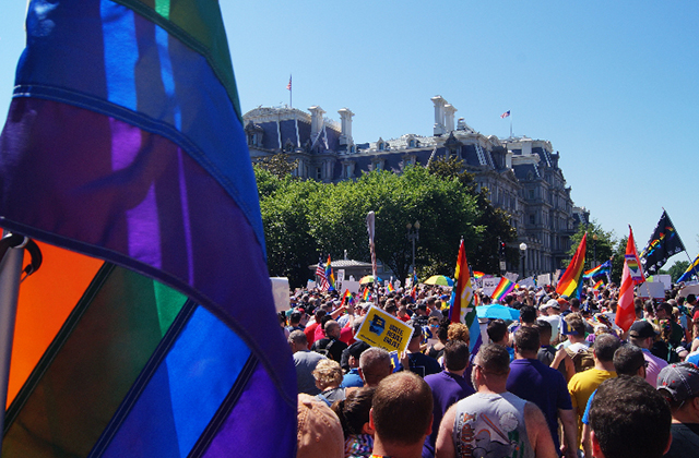 My Experience at the National Equality March for Unity and Pride