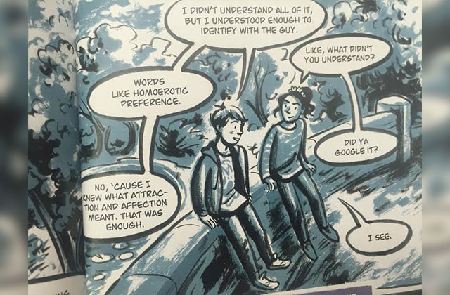 'Gay Kid' Graphic Novel Is History Lesson Through Coming of Age Tale