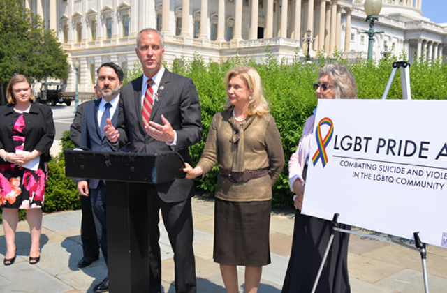 Rep. Maloney Introduces Data Collection Bill on Anti-LGBT Violence