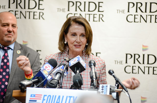 Pelosi's Visit Costs City $2,701