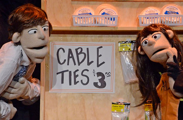 Sex-Crazed Puppets Parody 'Fifty Shades' at Empire Stage
