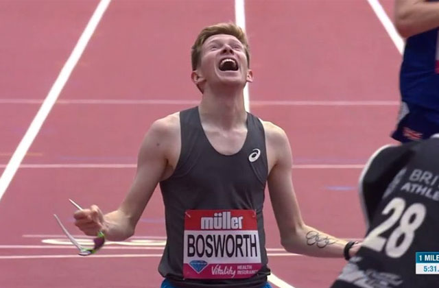 Out Olympian Tom Bosworth Breaks One-Mile Race Walk World Record