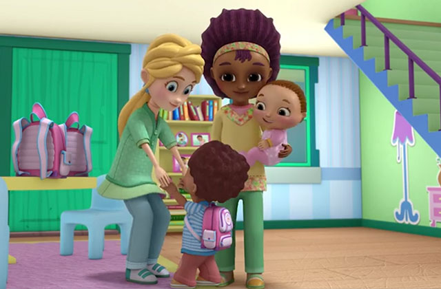 Disney Junior Cartoon Features Interracial Gay Moms