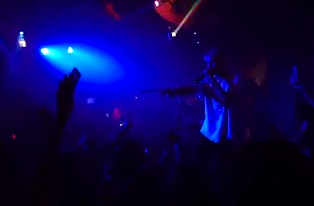 Aaron Carter Makes Emotional Performance at Gay Bar in Tampa