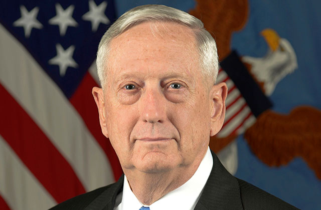 No, Jim Mattis Isn't Freezing Trump's New Transgender Military Policy