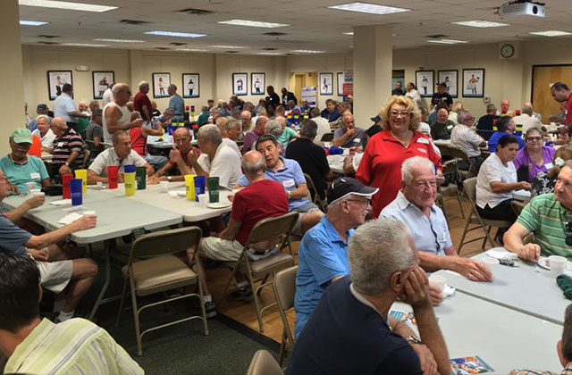 Coffee & Conversation: Reps From Assisted Living Facilities Speak to Seniors at Pride Center