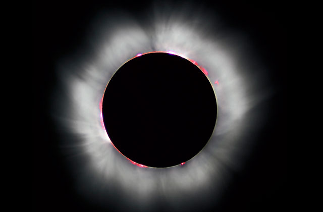 Solar Eclipse Hits Skies Today