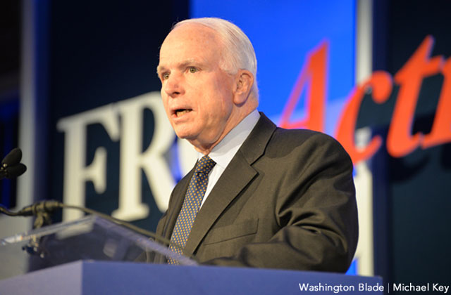 McCain Co-Sponsors New Bill Against Trump's Trans Military Ban