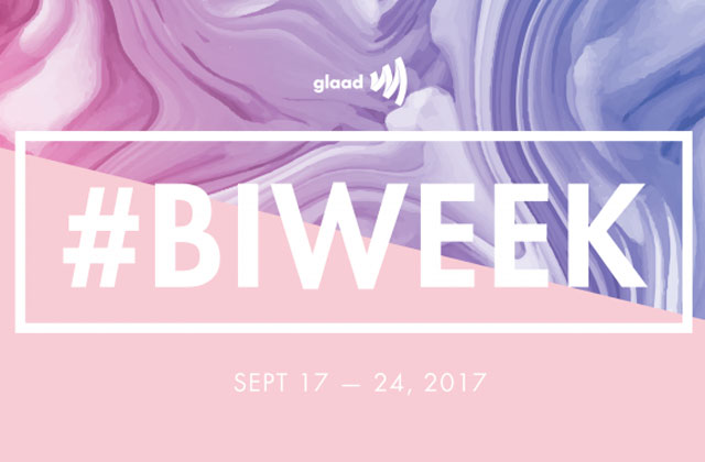 GLAAD, BiNetUSA to Host #BiWeek Twitter Chat with Bi Politicians