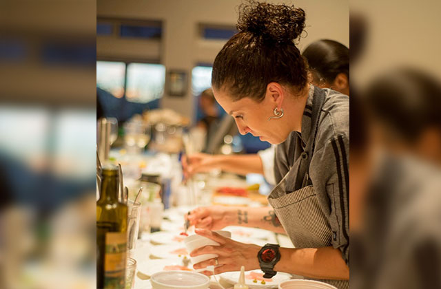Local Chef Back On Tv In All Star Competition Television A E Sfgn Articles