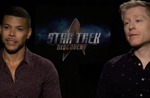 Wilson Cruz and Anthony Rapp Dish on 'Star Trek' Gay Romance