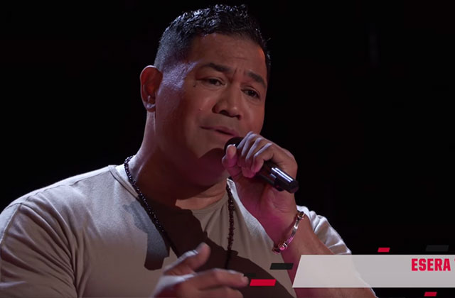 Gay Ex NFL Player Tackles 'The Voice' Auditions