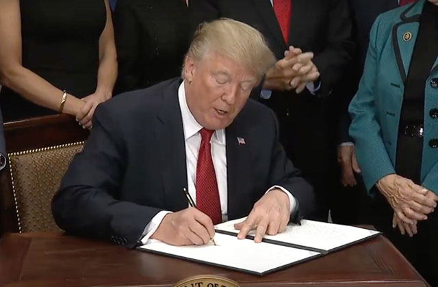 LGBT, HIV Groups Pan Trump's Executive Order on Health Care