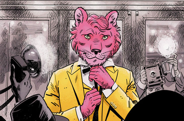 Snagglepuss Is Now A Closeted Gay Playwright