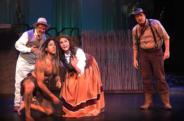 Review: 'Tarzan' Swings in to the Broward Center