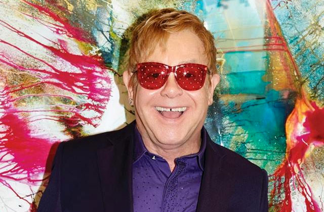 Harvard Honoring Elton John for Efforts to Fight HIV, AIDS