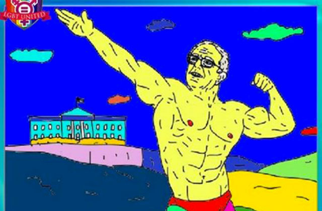Russia Sought to Influence LGBT Voters with 'Buff Bernie' Ad