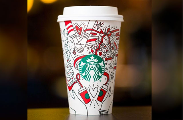 Starbucks Cups Featuring Lesbian Couple Causes Controversy