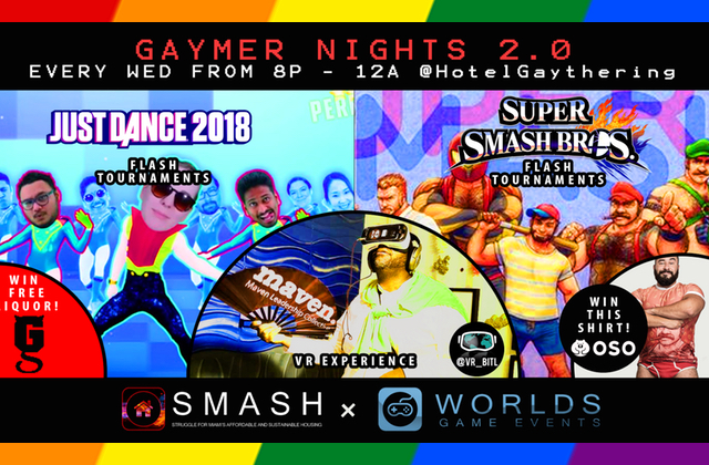 'Gaymer Nights' at Gaythering Will Raise Money for LGBT Homeless Youth