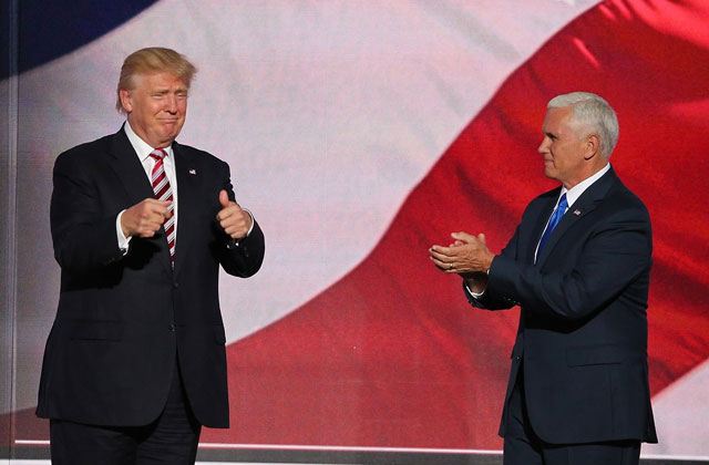 Trump Jokes: Pence 'Wants to Hang' All Gay People
