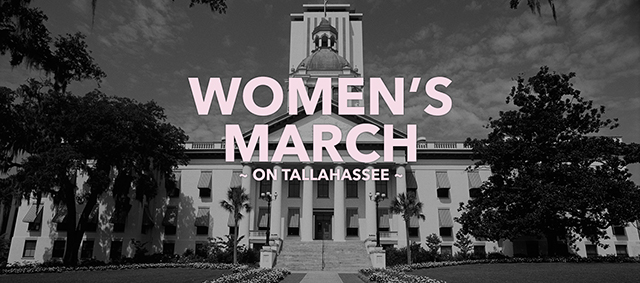 Women March on Tallahassee and Throughout Florida