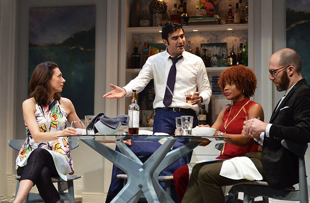 Disgraced Packs the Maltz Jupiter Theatre