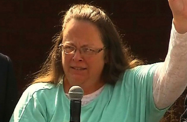 Kim Davis to Speak in Romania Against Marriage Equality