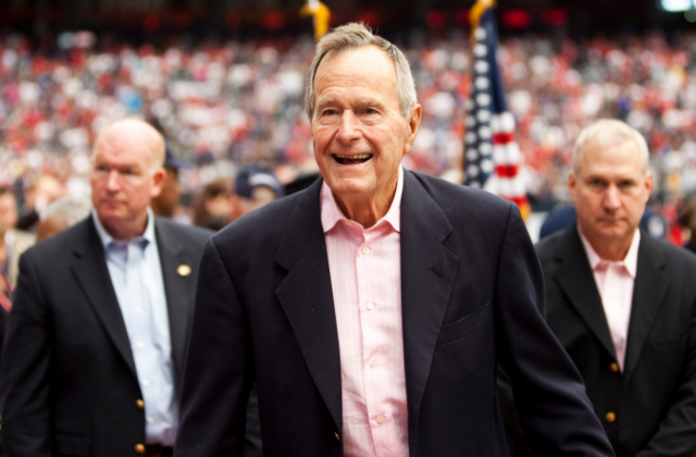As President George H.W. Bush Has A Mixed Legacy On LGBT Rights