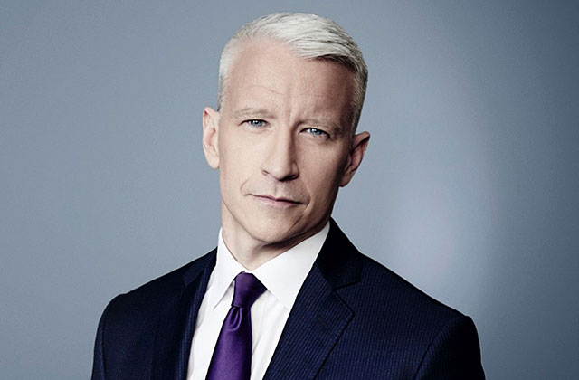 Openly Gay Anderson Cooper Honored at Sean Penn's Star-Studded Benefit