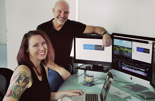Lightship Media: The small Wilton Manors creative agency with big clients