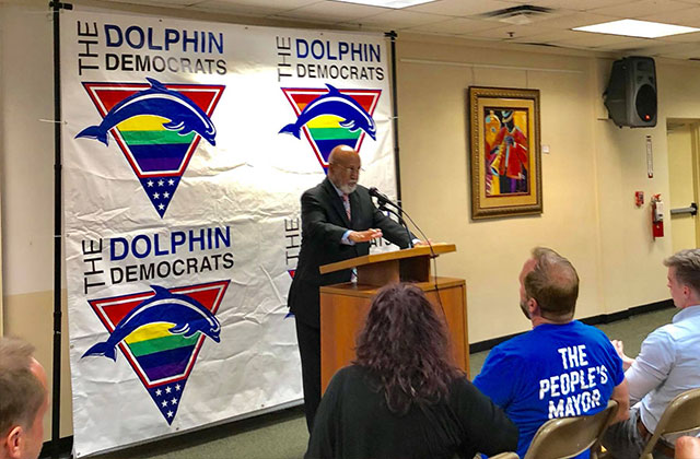 Jesse's Journal: Alcee Hastings Addresses the Dolphin Democrats