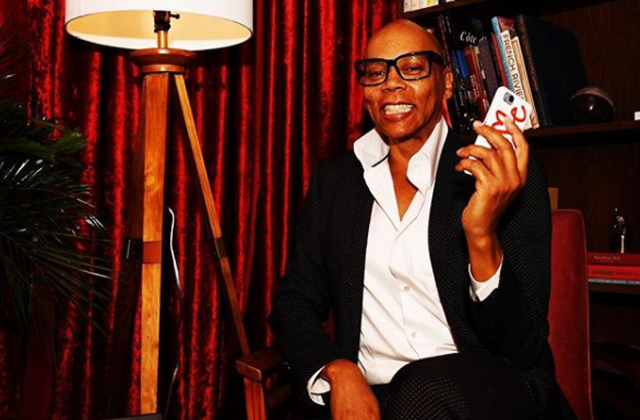 RuPaul Joins Hollywood Walk of Fame