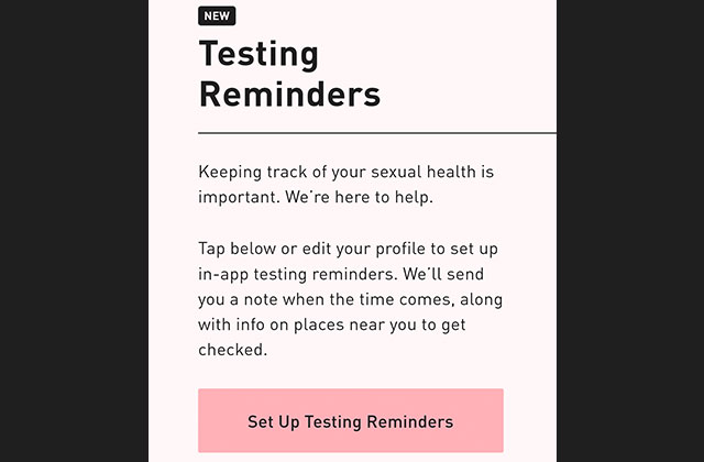 Grindr to Send HIV Testing Alerts to Users