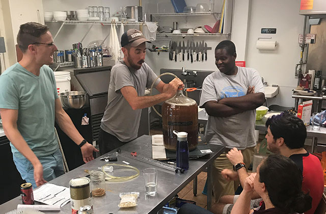 Queers Makin' Beer: New social group focuses a safe space to throw back and brew some suds